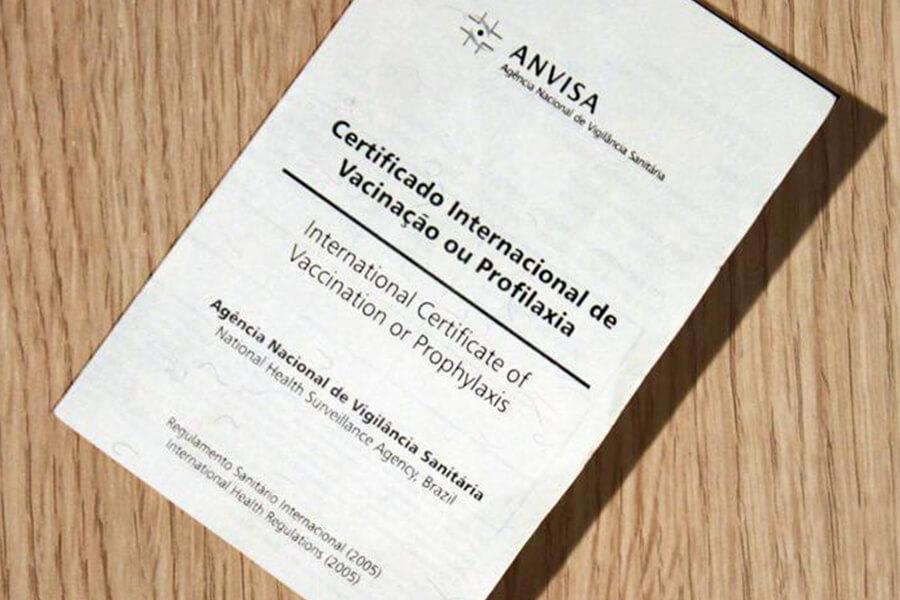Países exigem certificado internacional de vacinação