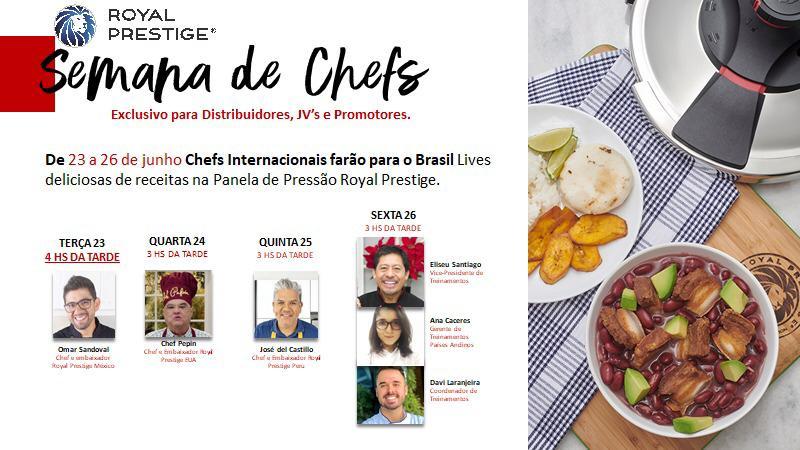 Semana de Chefs | Royal Prestige